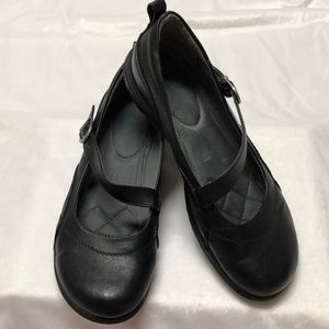 Yuu Leather Shoes, Mary Jane style Flats